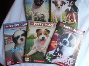 """5 books -""""Puppy Place"""" by Ellen Miles"""
