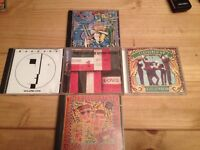 BAUHAUS STONE ROSES FLOWERED UP BEATMASTERS CD JOB LOT £15