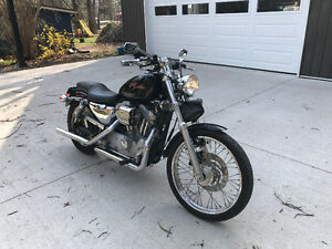 2000 sportster 883 bored to 1200cc, cam and lifters...fast bike