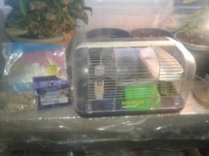 Just Add Hamster!  (Cage)