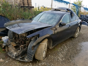 2007  infiniti g35 part out