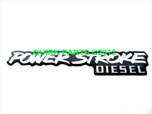 Ford Powerstroke Emblem Ebay