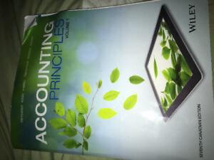 Accounting principles volume one 7th edition for sale!!