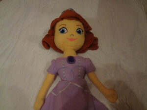 Soft Pillow Sofia the 1st Doll