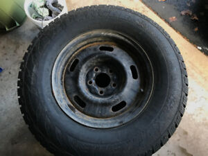 Truck Winter Tires on Rims