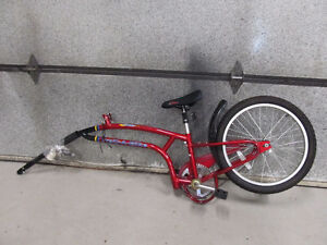 Trail-a-Bike, Original Folder One, Red