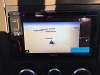 Sony stereo XAV602BT