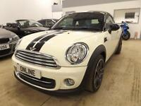 MINI COUPE COOPER, White, Manual, Petrol, 2013