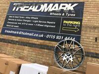 "18"" alloy wheels alloys rims 5x120 tyre tees 1 2 3 4 5 series BMW"