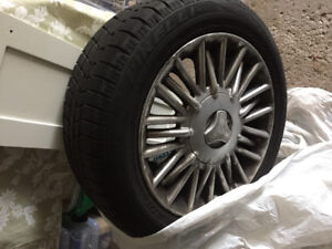 Mercedes Winter Tires on rims