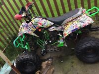 Road legal quad spares or repair 250cc