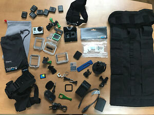 GoPro Hero3 + TONS OF ACCESSORIES// BEAUCOUP D'ACCESSOIRES