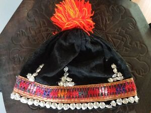 Hmong handmade child jacket and Hat