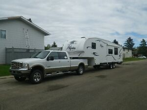 2008 31ft fifth wheel trailer for sale BUNK HOUSE MODEL