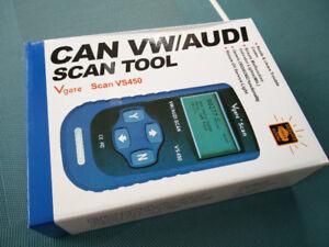OBDII Scan Tool VS450 (CAN VW/AUDI)