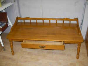 Vintage Knechtel Coffee Table & Magazine Stand Cambridge Kitchener Area image 2