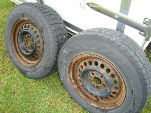 2 AVALANCHE X-TREME TIRES