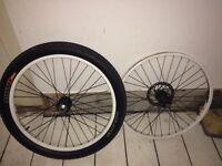 24inch jump bike/mountain bike wheels