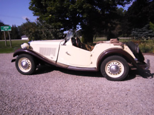 MG TD 1953 For Sale $20,000