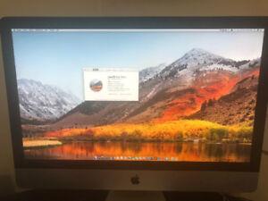 iMac 27 Pouces Mid-2011 i5 2.7GhZ 8gb 256Gb SSD   1Tb HDD