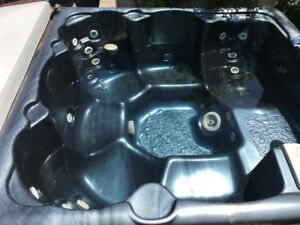 Hot Tub W/ Cover and Steps For Sale
