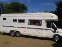 Auto Trail Chieftain SE, 2006, Sleeps 4 2 Seat Belts, 25699 Miles, Recommended,