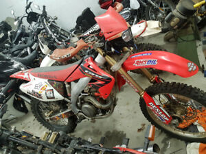 2004 CRF450R Street plated (Blue Papers)