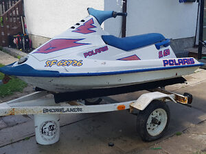 Polaris 650 Seadoo with trailer
