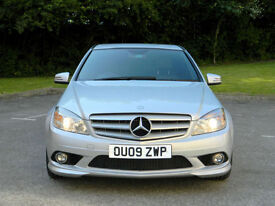 2009 Mercedes-Benz C200 2.1CDI auto 2010MY Sport AMG WITH S/H+1/2 LEATHER+CRUISE