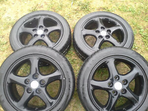 "16"" inch Tires and rims  KUMHO Ecsta 195 50 r16  Mazda Ford !!!!"