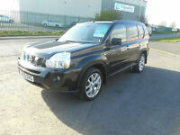 NISSAN XTRAIL TEKNA DIESEL 4X4 MANUAL 5 DOOR 59 PLATE £39 PER WEEK