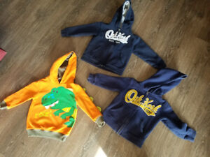 2/3 toddler size sweaters