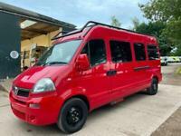 LWB High Roof Panel Van Movano by Base Van for Camper