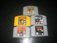 5 n64 games good titles