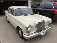 1966 Mercedes 230, very nice condition.