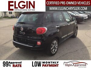 2015 FIAT 500L Lounge***Leather,Pano,Navi,B-up Cam*** London Ontario image 5
