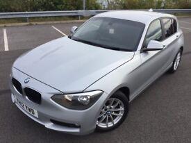 BMW 120 2.0 120d SE (silver) 2012