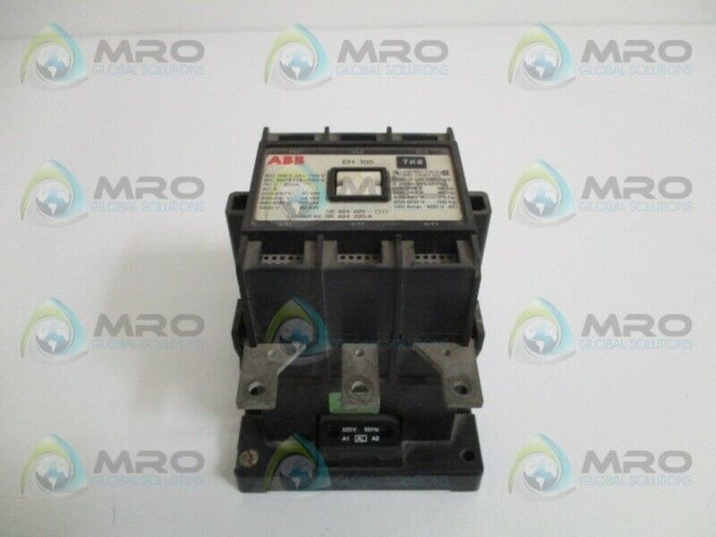 ABB EH100 CONTACTOR 220V * USED *