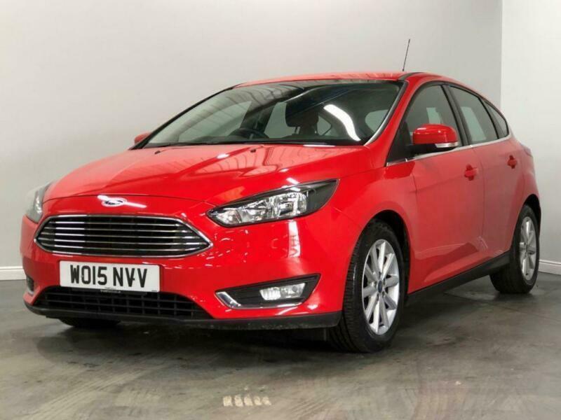 2015 Ford Focus 1.6 Titanium 5dr 6Spd Pshift 125PS Auto Hatchback Petrol Automat