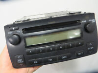 Corolla Original Radio / CD Player
