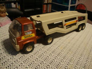 From the late 70's Vintage Tonka Car Carrier in good condition