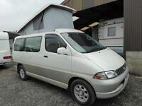 Toyota Granvia 2 berth pop top automatic campervan for sale Ref 12023