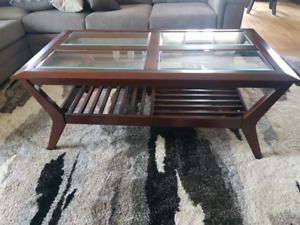 REDUCED!!!Mission style coffee table for sale