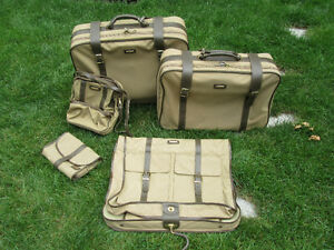 5 pieces luggage