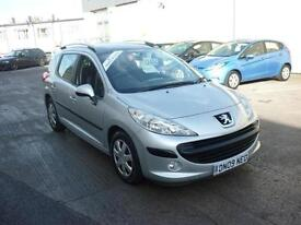 2009 Peugeot 207 SW 1.4 VTi 95 ( a/c ) S Estate Finance Available