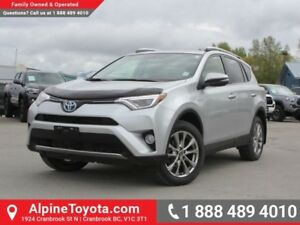 2016 Toyota RAV4 Hybrid Limited  AWD - Sunroof - Heated Seats -