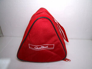 Sealtest Milk insulated lunch bag red colour brand new