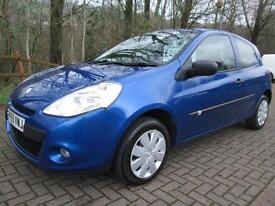 09/59 RENAULT CLIO EXTREME 1.2 3DR HATCH IN MET BLUE WITH ONLY 69,000 MILES
