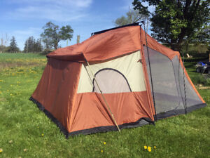 Excellent 6 Person 2 Room Ozark Trail TENT SEE DEMO VIDEO