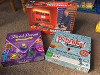 Board games - Trivial Pursuit (Genius Edition), Deal or No Deal & Pictureka (2nd edition)